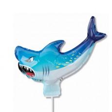 캐릭터풍선-상어