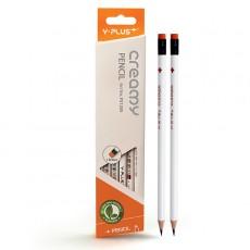 와이플러스 크리미 지우개연필(PX1205) 12자루 HB