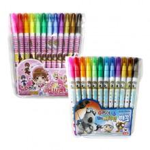 동아 12색 연질 싸인펜