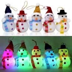 크리스마스 불빛 꼬마눈사람(랜덤발송)