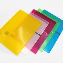 알파 비비드 컬러칩 2포켓 A4 홀더화일