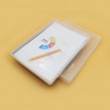유니 화일케이스 A4 파일보관함 플라스틱 투명 레고정리 30mm 45mm
