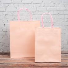 핑크 트위스트백 3호 10개입 230x90x280mm 종이가방 쇼핑백