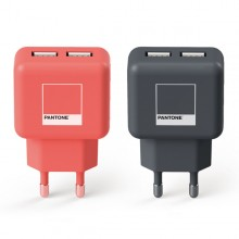 PANTONE 팬톤 USB 2포트 충전 어댑터 정품