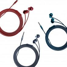 팬톤 유선 이어폰 메탈 통화가능 3.5mm