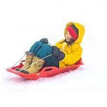 눈썰매 1인용 겨울 스포츠 어린이 썰매