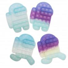 변색 푸시팝 푸쉬 팝잇 어몽어스 무한뽁뽁이 버블 장난감
