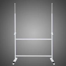 토탈 화이트보드 이동식 단면 스탠드 600x900mm