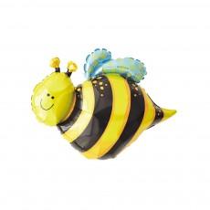은박풍선 꿀벌