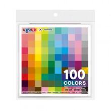 종이나라 단면색종이 100매 100색 케이스