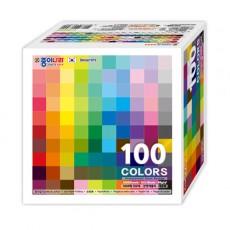 종이나라 단면색종이 1000매 100색 대용량