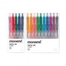 모나미 NEW FX ZETA 에프엑스 제타 컬러 5색/10색 세트 0.5mm
