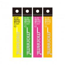 모나미 플립3 형광 리필심 0.7mm